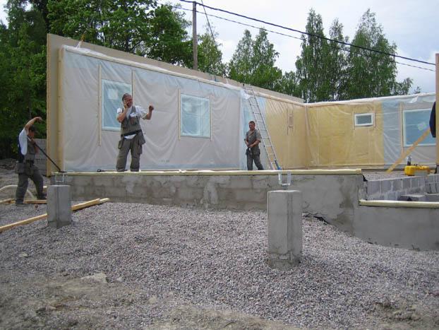 Строим финский дом своими руками