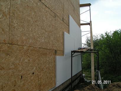 Пенопласт для фасада под штукатурку