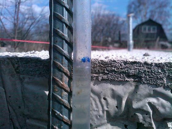 Использование вместо цемента плиточный клей