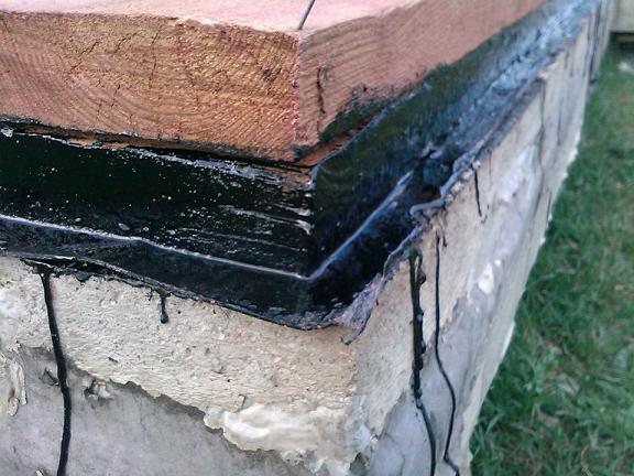 гидроизоляция обвязки каркасного дома
