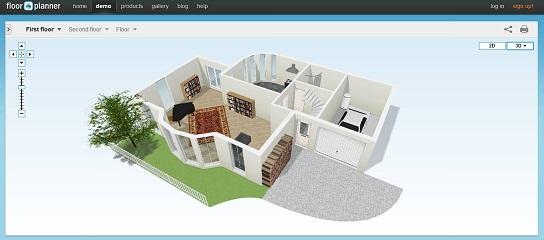 Программа Floorplanner