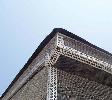 Отделка фасада дома под брус