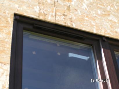 Окна каркасного дома