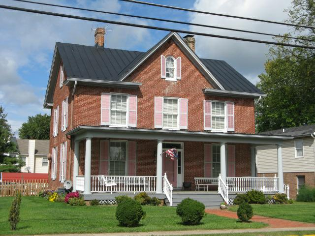 Каркасные дома в викторианском стиле