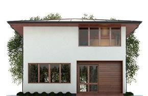 Проект каркасного дома Берген