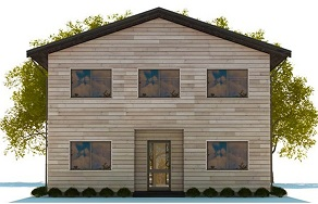 Проект каркасного дома Висбаден