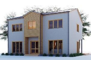 Проект каркасного дома Тромс