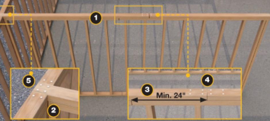 Проектирование каркасных стен